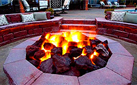 Firepits by Peeler Pools of North Florida