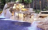 Waterfalls by Peeler Pools of North Florida